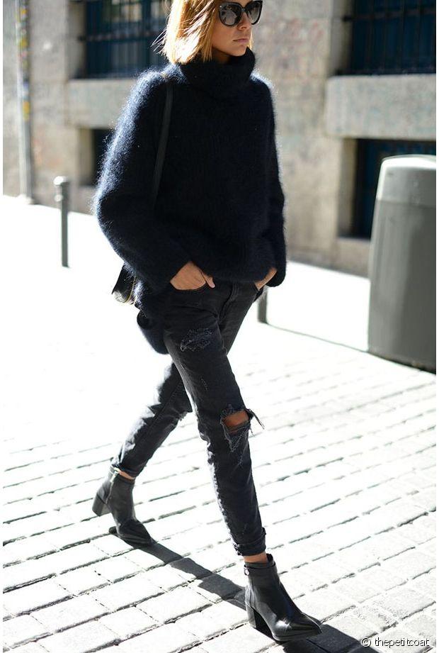 Préférence Quelles chaussures porter avec un jean déchiré ? QJ45