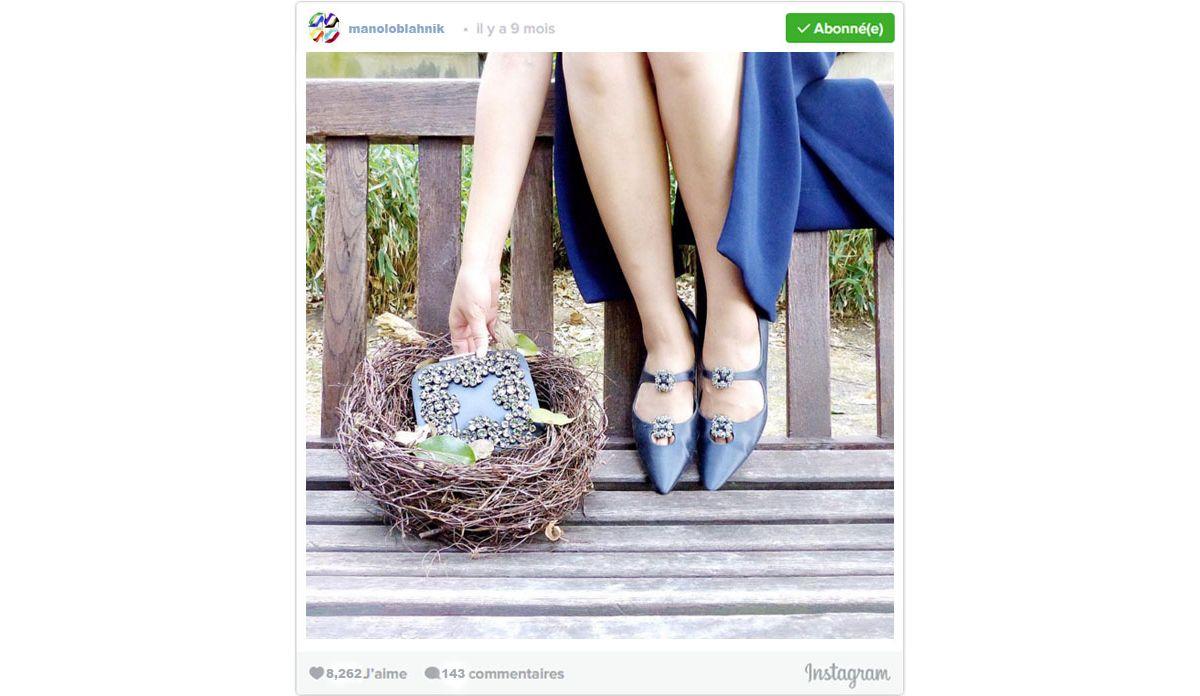 56f408d2d97f 10 comptes Instagram à suivre pour les amoureuses de chaussures