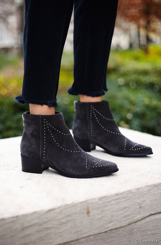 Clous et bottines noir =  ♡