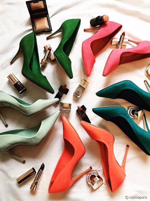 Sélection de chaussures à talons hautes en couleurs