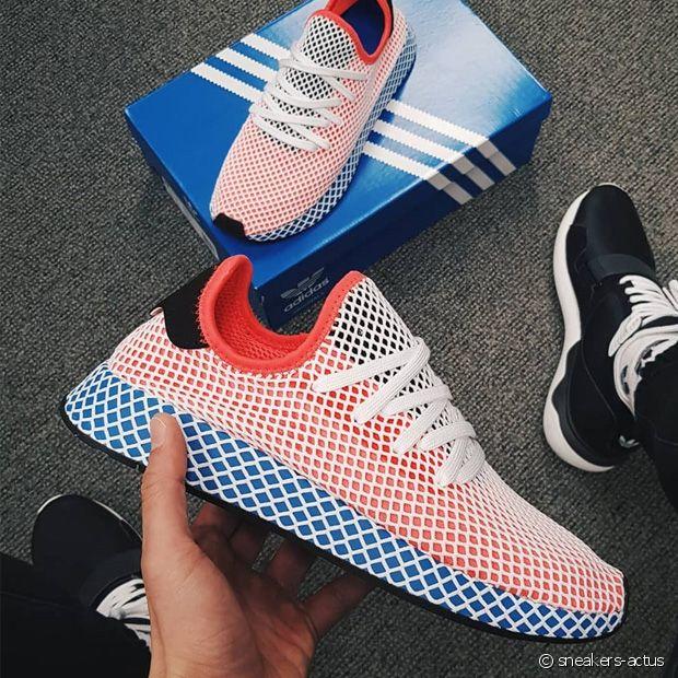 Les Deerupt d'Adidas aussi ont adopté le Bleu-Blanc-Rouge