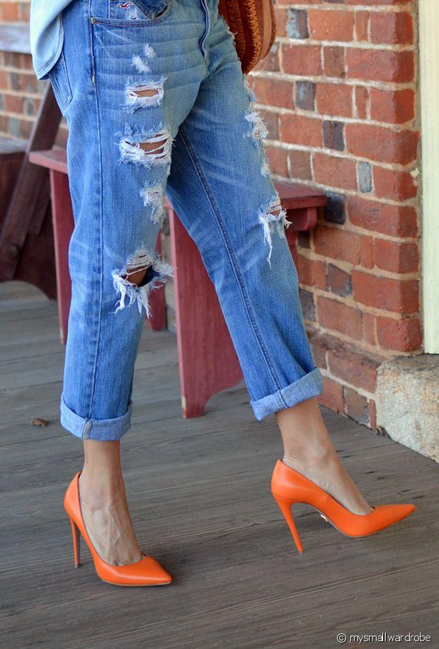Escarpins oranges : sélection de chaussures à talons vitaminées pour le printemps-été 2019