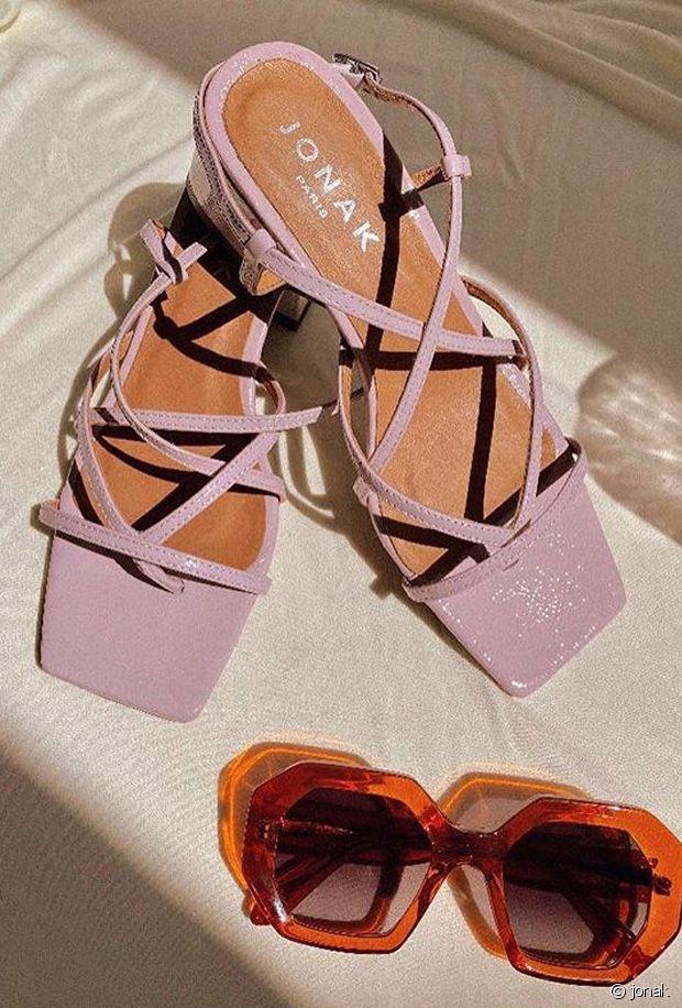Chaussures lilas : la couleur tendance à adopter ce printemps et cet été 2020