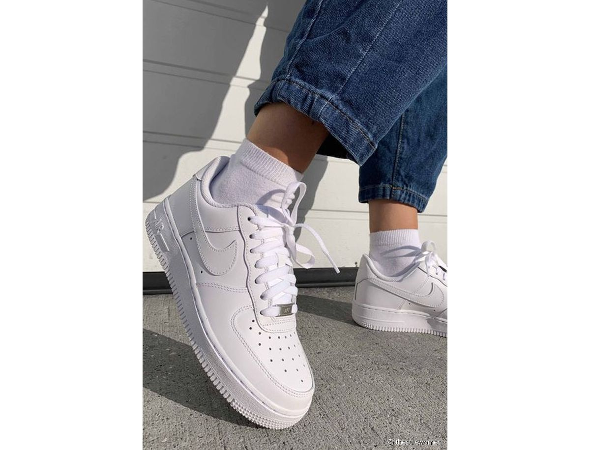 comment porter des baskets nike air force 1 Run Baby Run