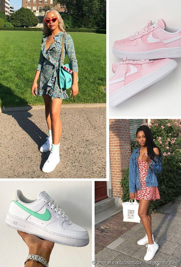 comment porter des baskets nike air force 1 - Run Baby Run