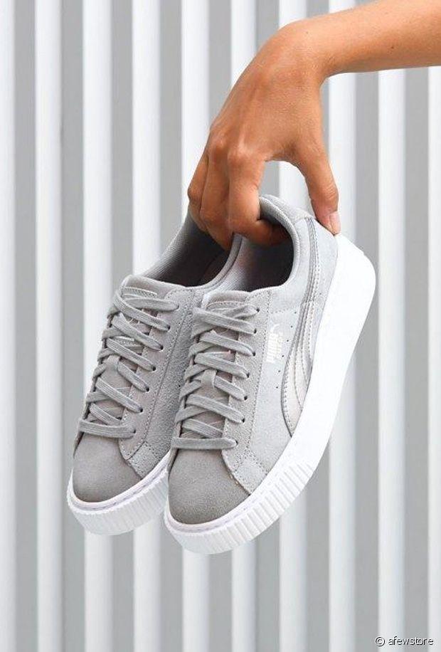 Sélection de chaussures grises pour l'hiver