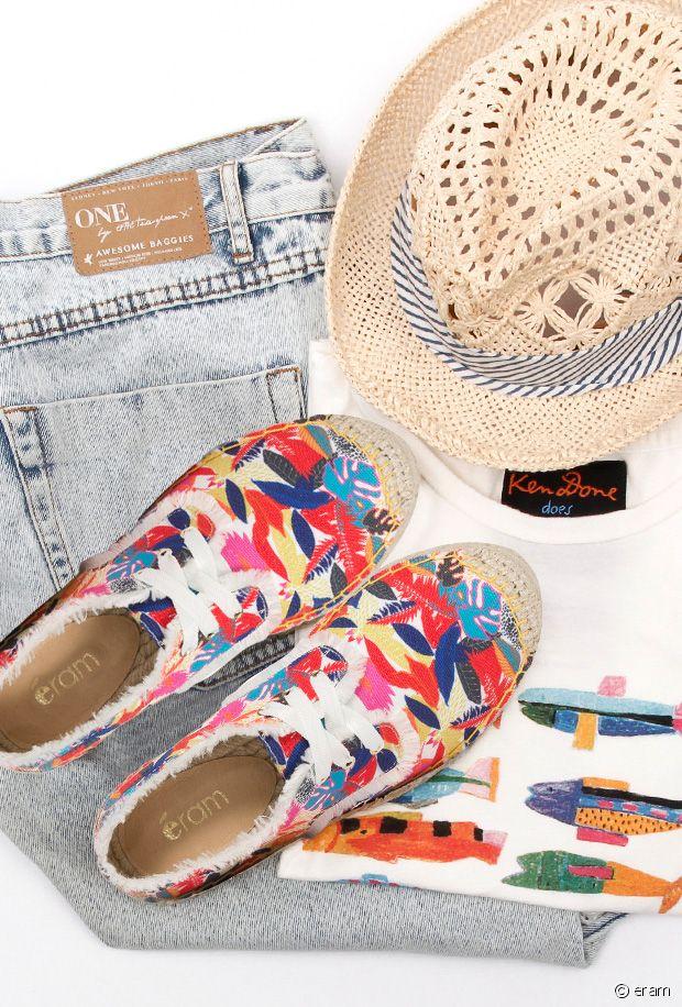 Sélection de chaussures à fleurs à moins de 50€