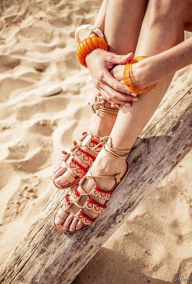 Sélection de chaussures à pompons pour l'été