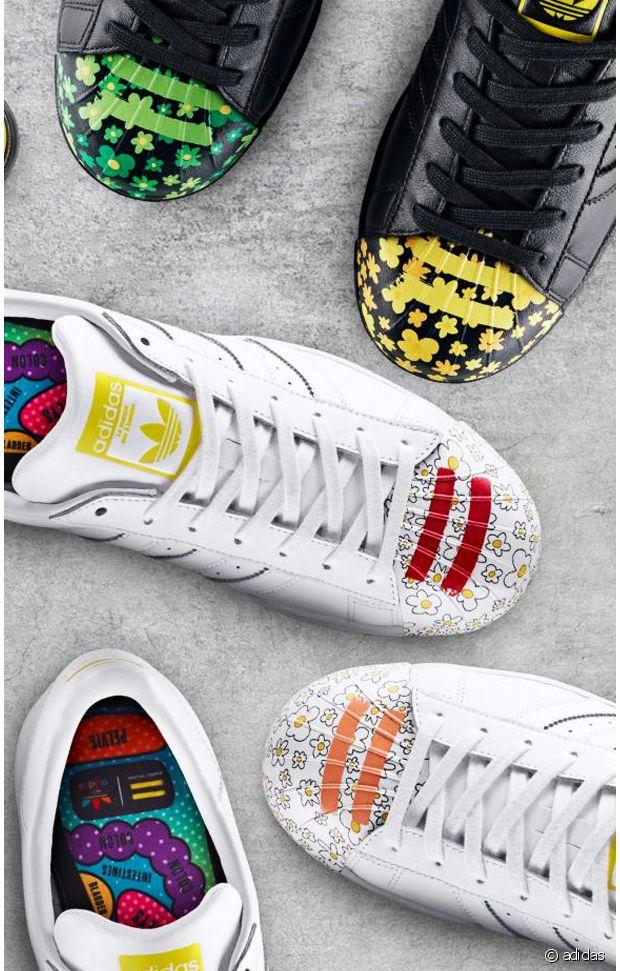 Adidas lance sa collection Supershell Artwork en collab