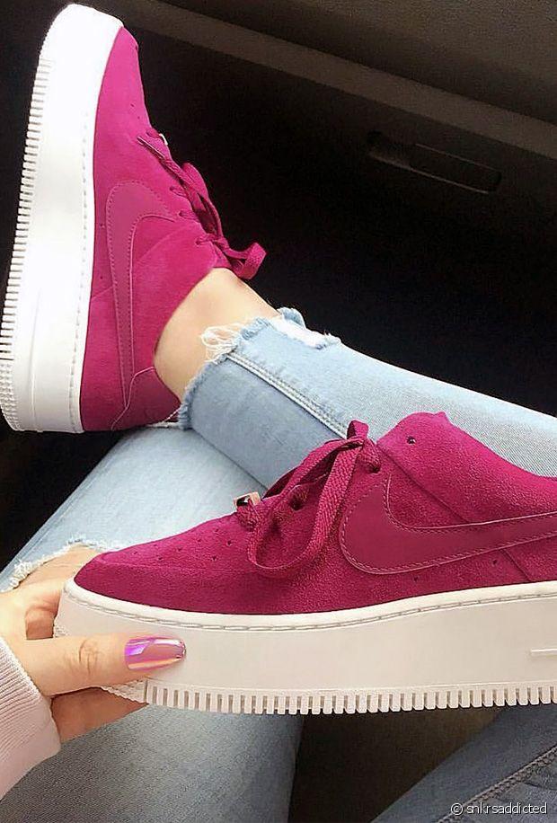 Sélection de chaussures rose néon certifiées canons