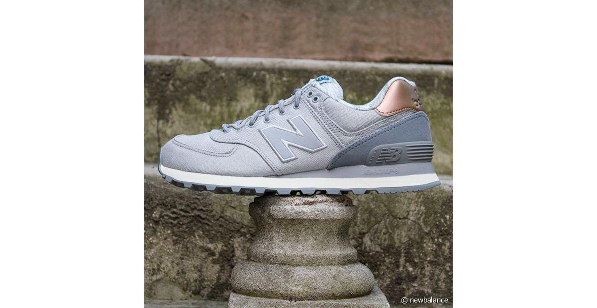 new balance gris cuivre
