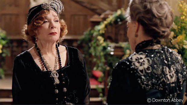 À Downton Abbey il n'y a pas d'âge pour être stylée