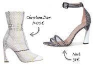 Le talon graphique de Dior