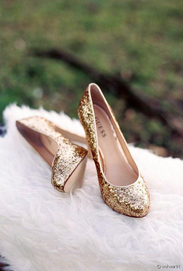 Sélection de chaussures à paillettes festives pour les fêtes de fin d'années