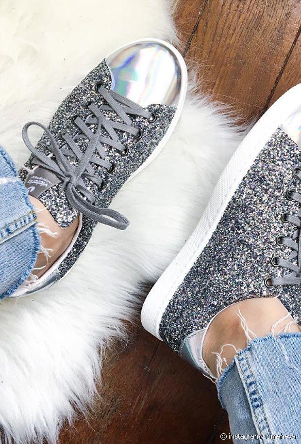Sélection de chaussures à paillettes pour l'été