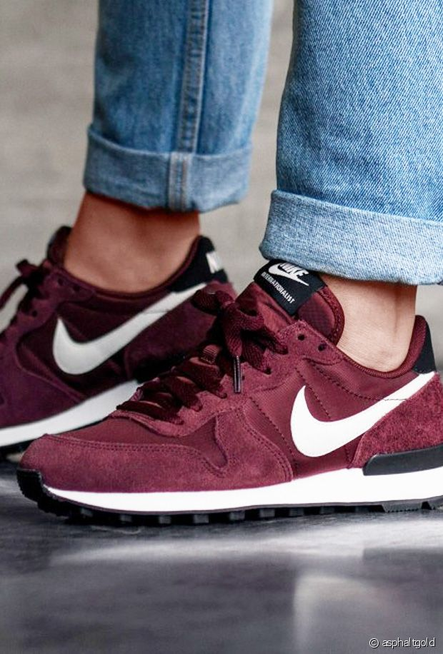basket nike internationalist femme bleu
