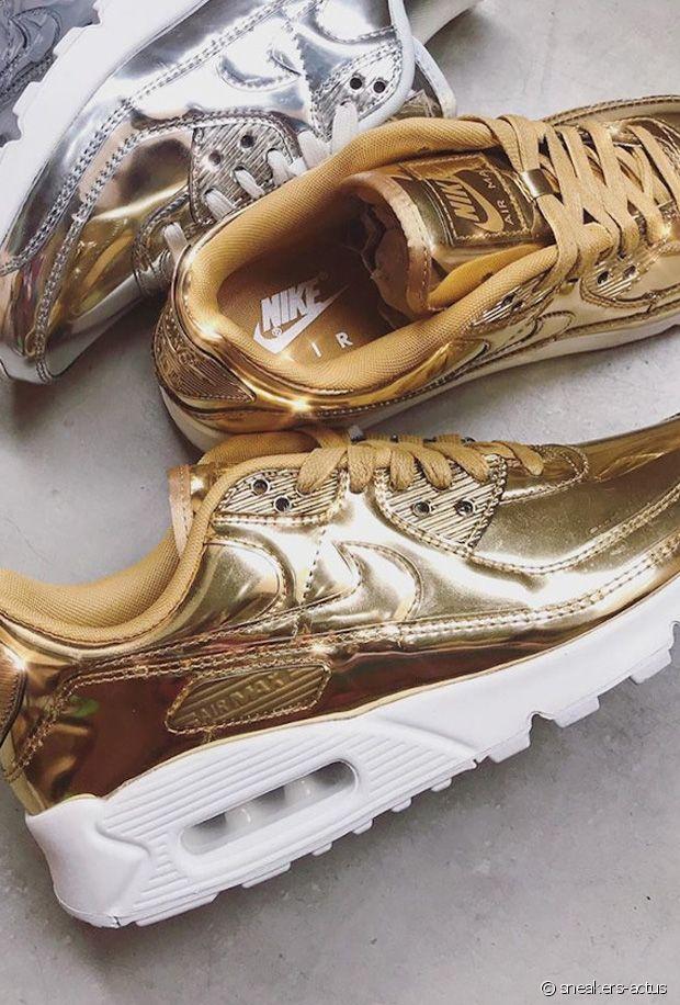 Baskets dorées : notre sélection de paires métalliques gold pour l'automne-hiver 21-22
