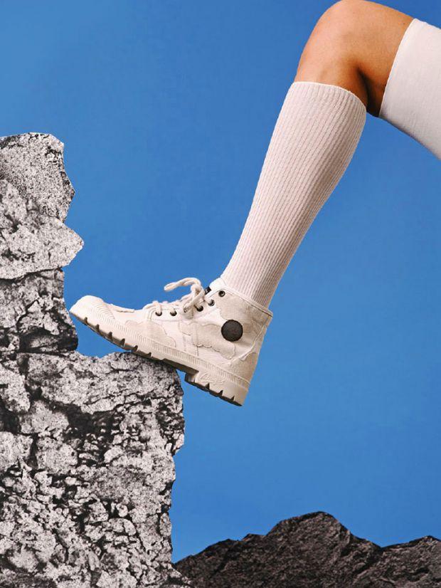 Une paire plus sobre pour escalader les rochers comme le bitume