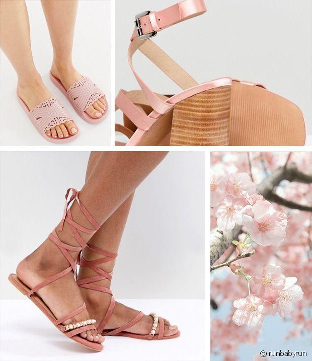 sandales roses 10 paires canons pour le printemps ete Run