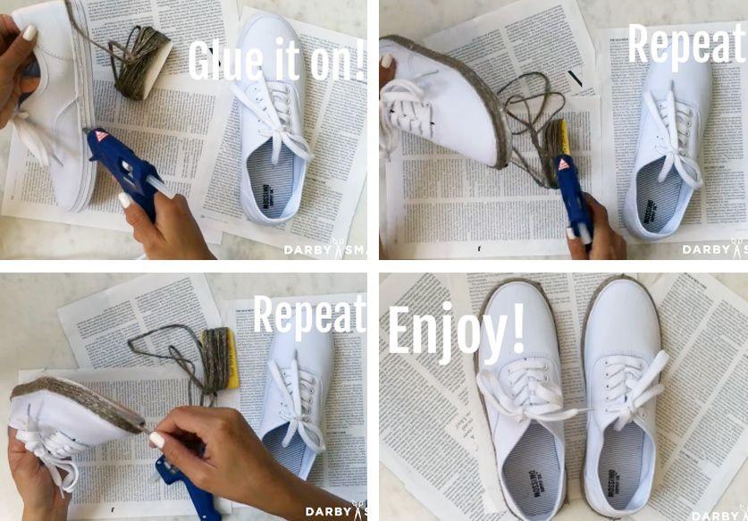 Voilà de quoi transformer vos baskets en espadrilles stylées !