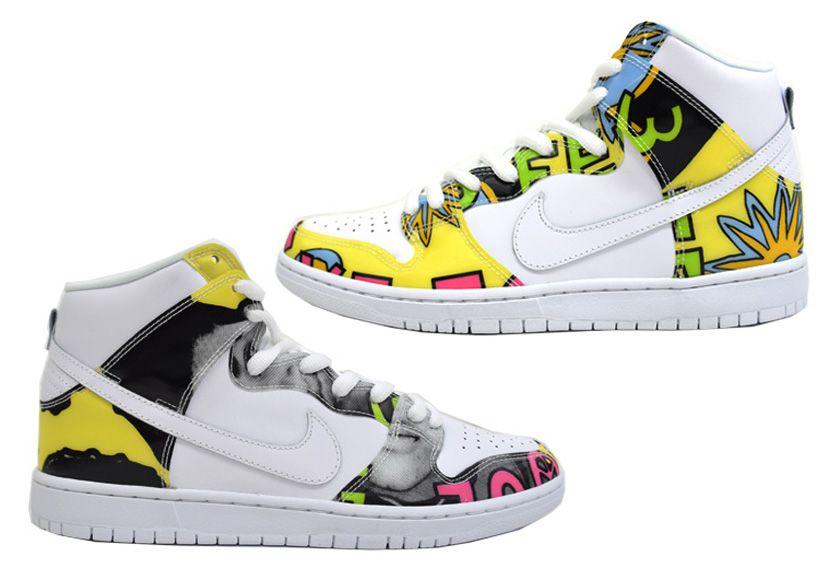 Les montantes Street de Nike x DeLaSoul