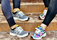 Colorés, imprimées, psyché... voilà les baskets indispensables de ce printemps été !