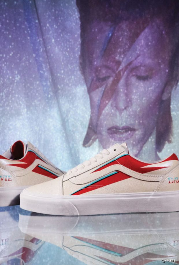 Vans lance une collection de baskets en hommage à David Bowie