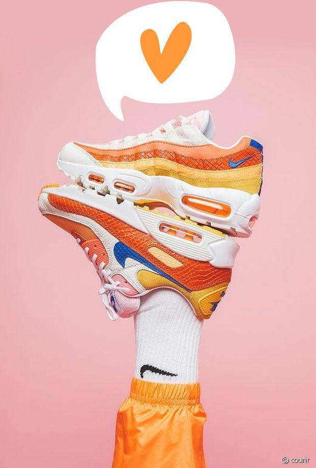 Baskets oranges : 10 paires de sneakers vitaminées canons pour le printemps-été 2021