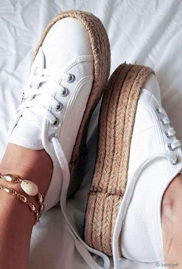 Sélection de chaussures en paille pour le printemps-été 2020