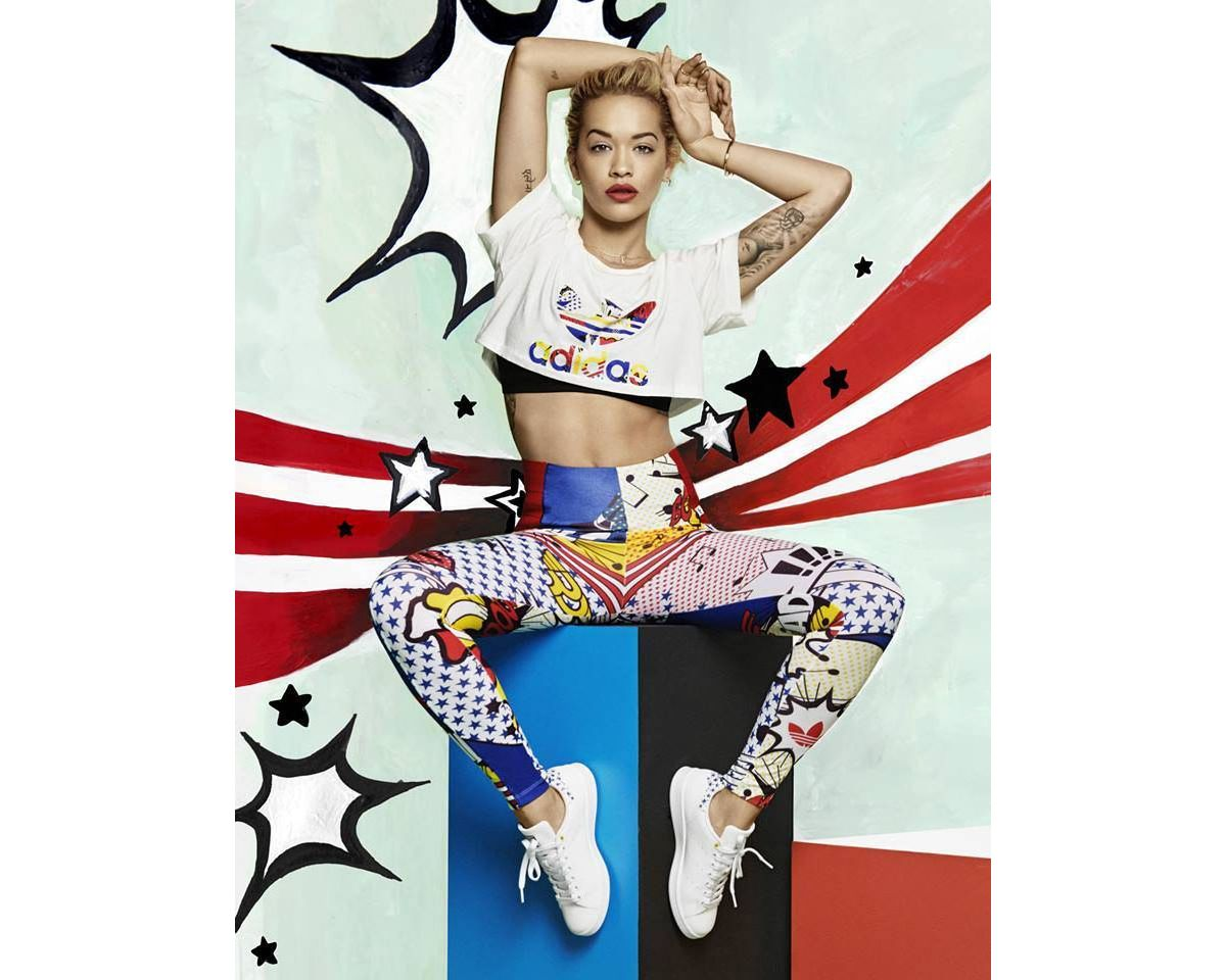 Art Hommage Pop Rita Ora Rendent Au Adidas Et OPikuXZ