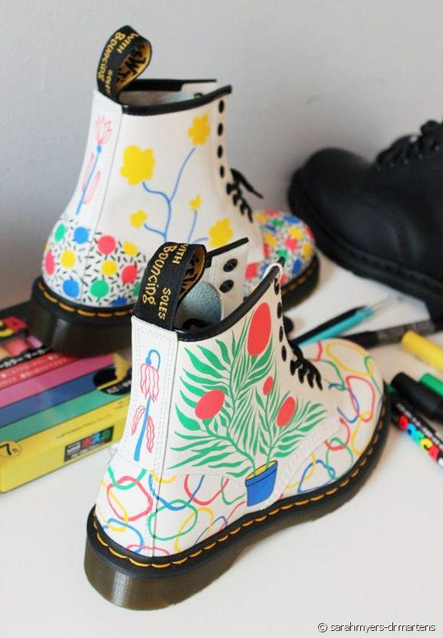 Des idées de customisation pour sublimer vos bottines Dr. Martens
