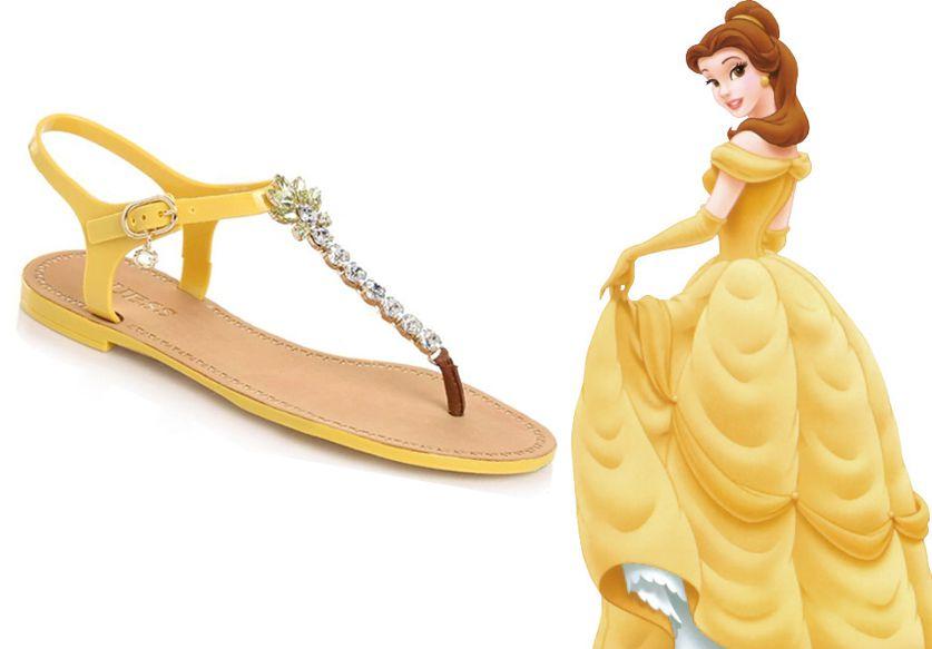 Princière en sandales, oui c'est possible !