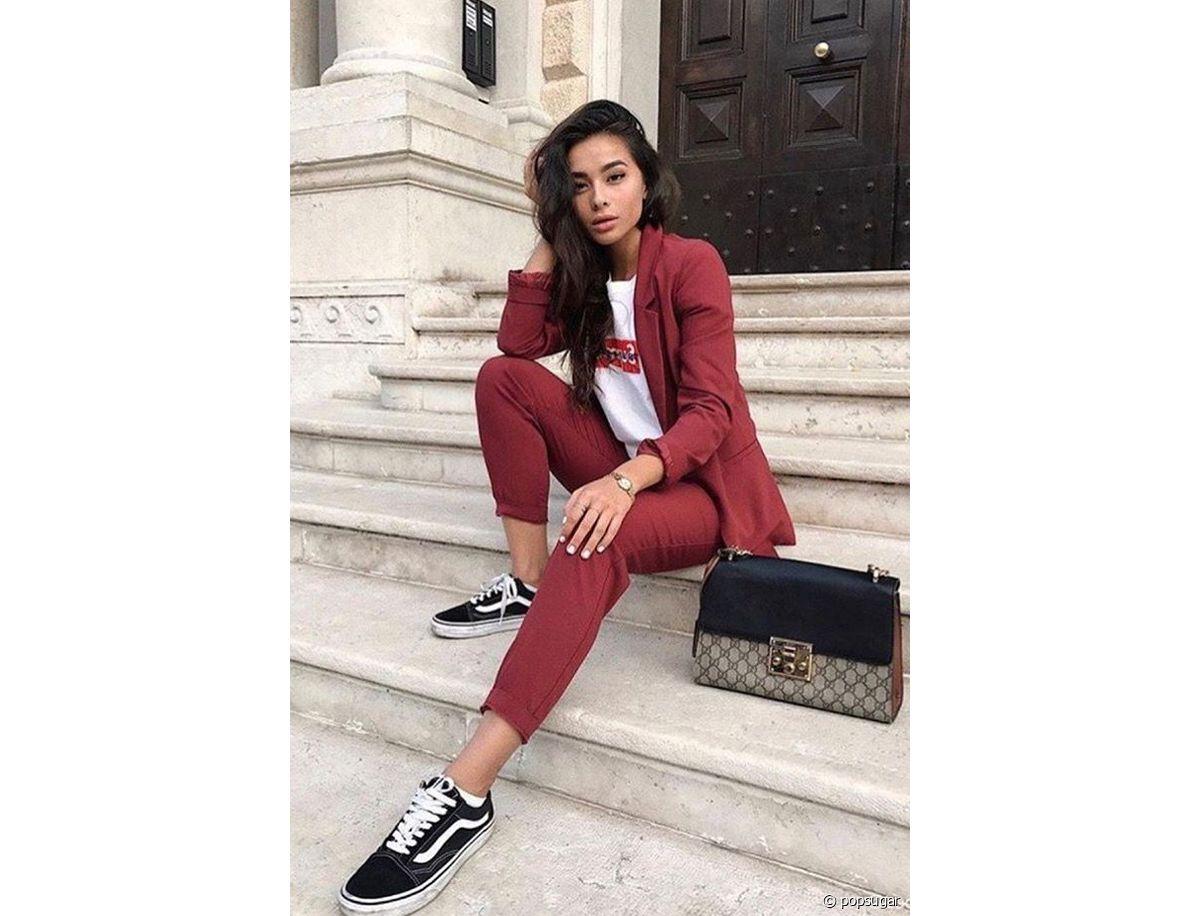 Avec Bordeaux Un Quelles Pantalon Chaussures Porter J5Kcu1Tl3F
