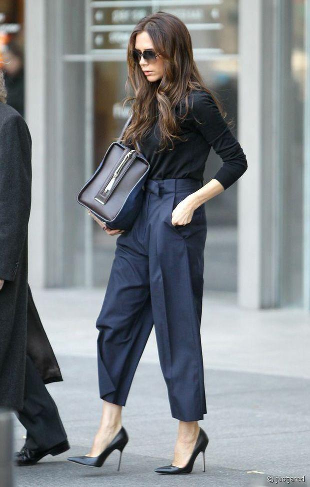 Victoria Beckham : la reine incontestée du pantalon 7/8ème