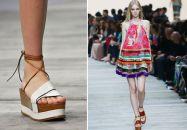 Les sandales compensées