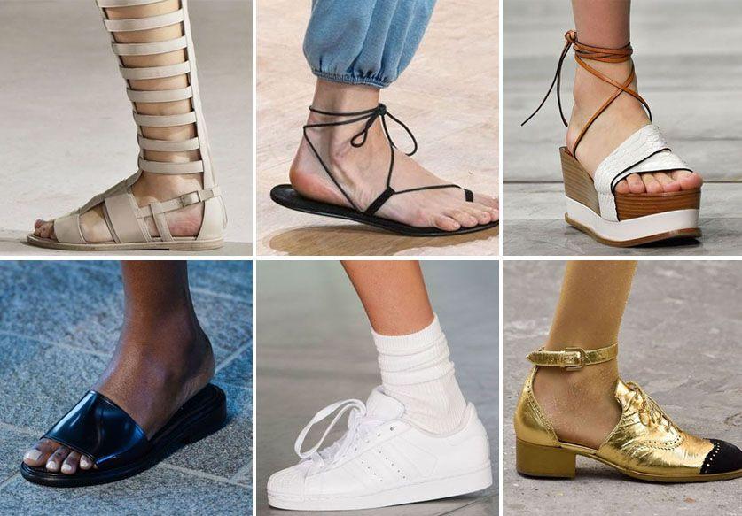 Les 10 tendances chaussures du printemps-été 2015 b7ef44ec4722
