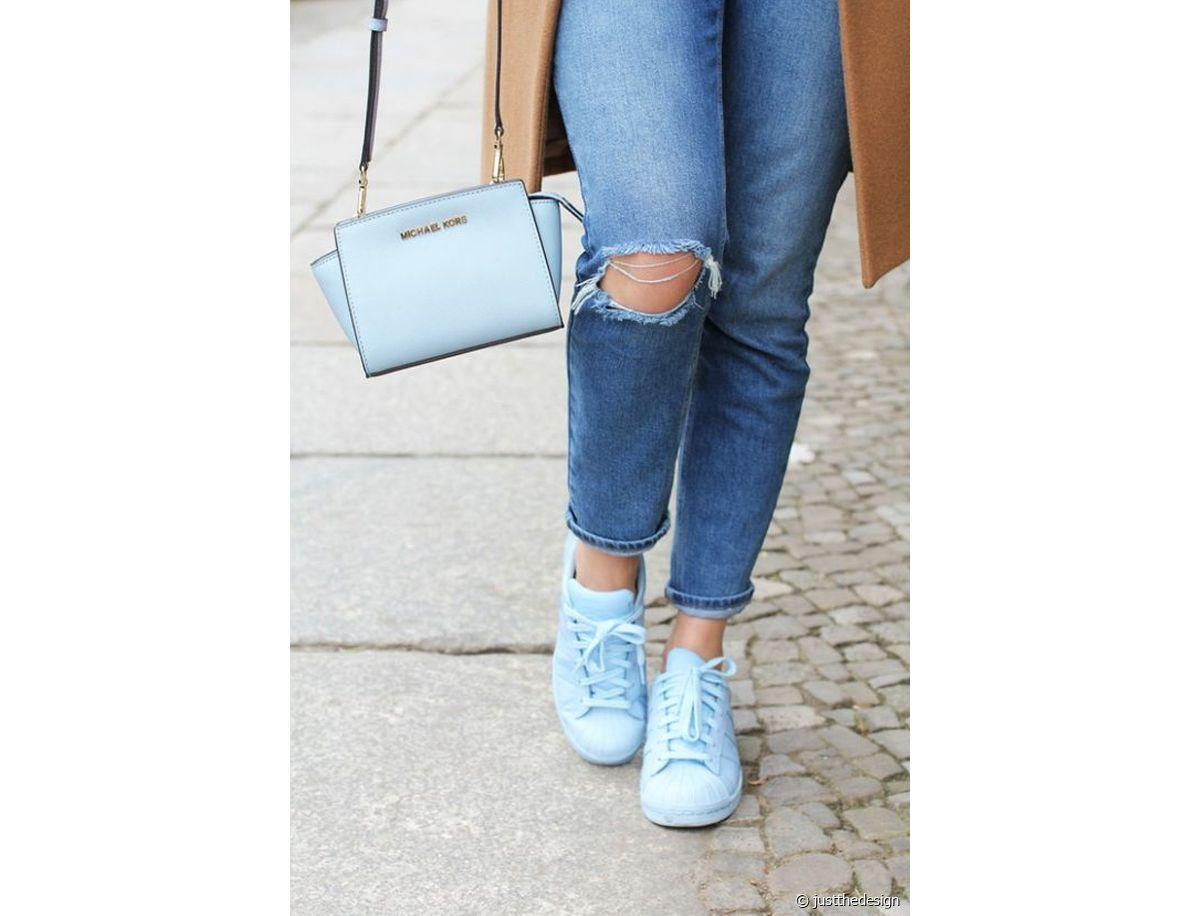 Idée look : j'accorde mes chaussures à mon sac à main Run