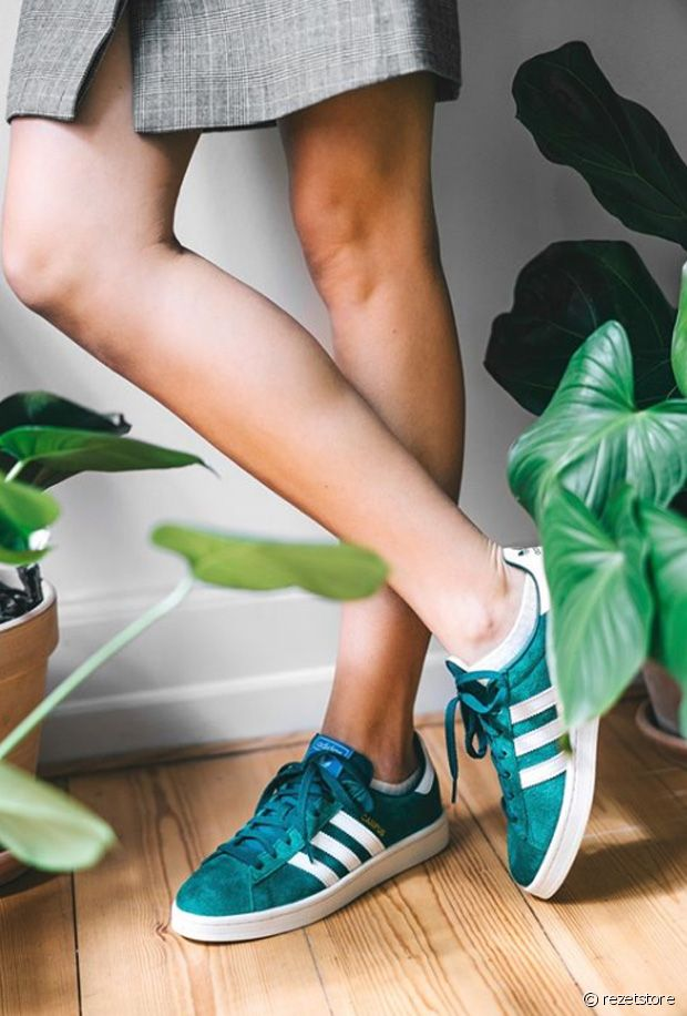 comment porter les baskets campus d adidas Run Baby Run
