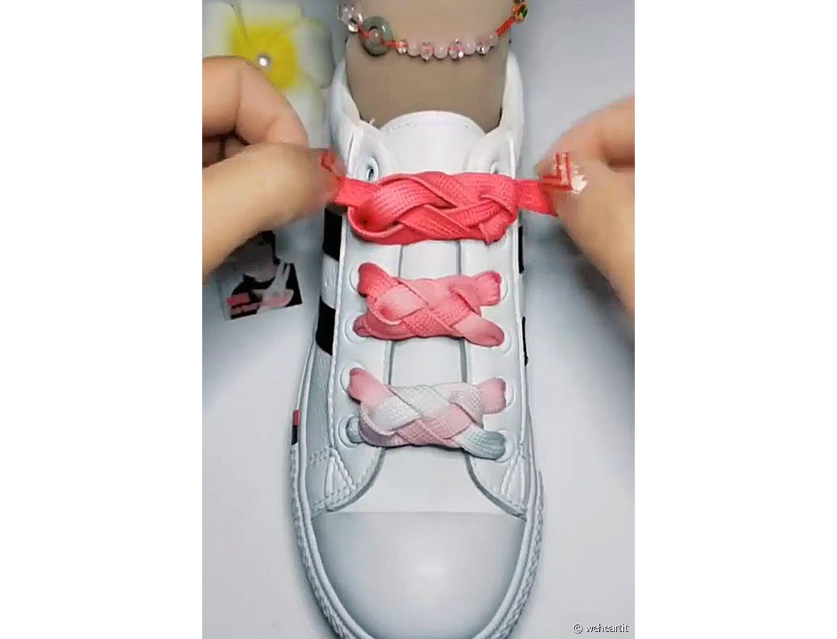 Faire tes lacets de sneakers, 4 façons différentes Pinroll