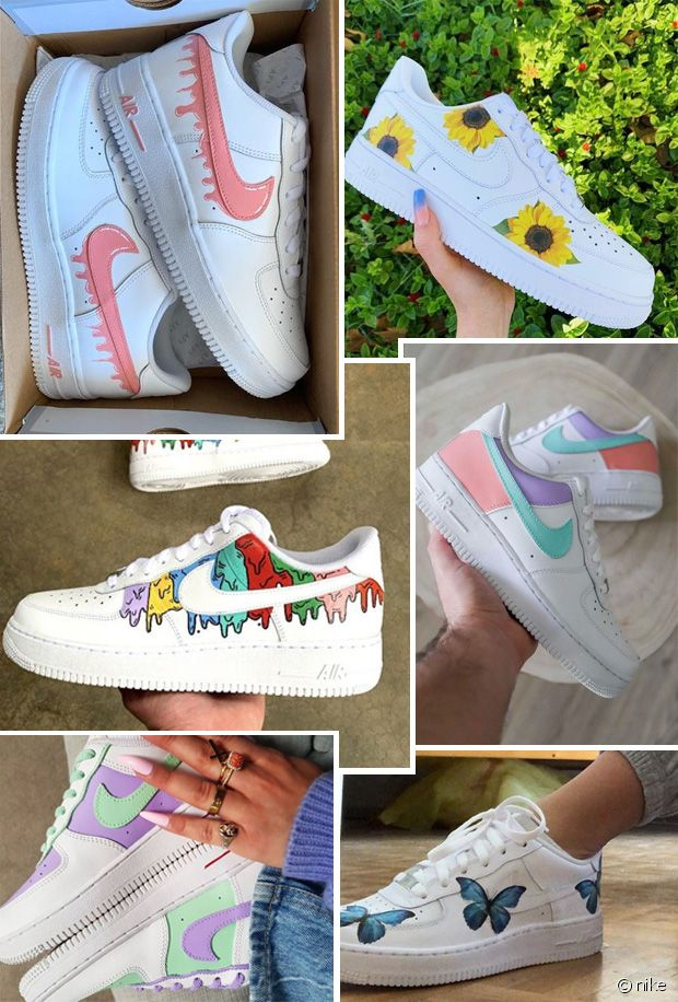 basket air force 1 femme pastel