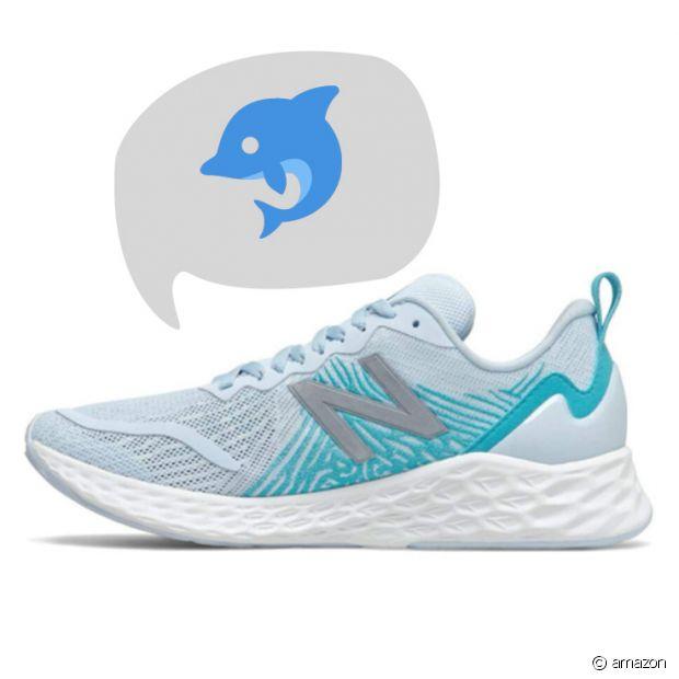 Une paire sportive aux allures aquatiques pour courir sur la plage cet été