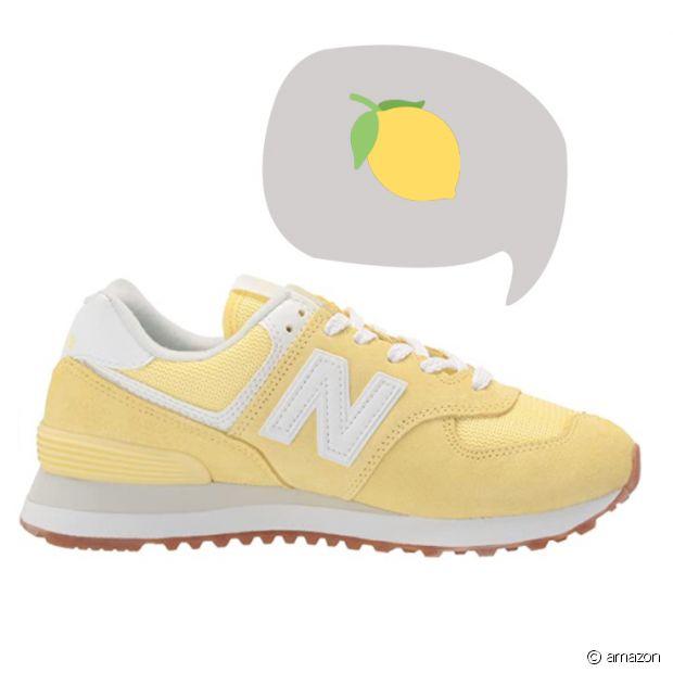 Les baskets jaunes : le meilleur moyen de faire le plein de vitamines