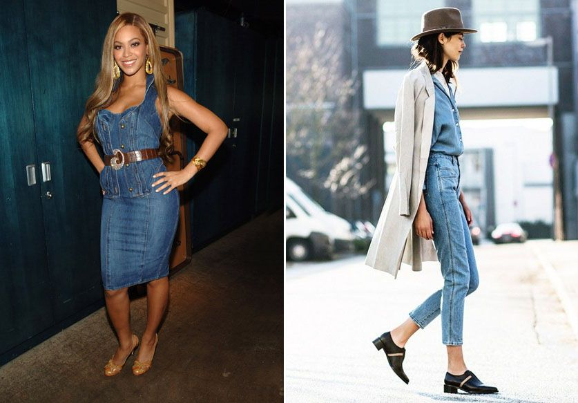 Le total look denim fait son come-back !