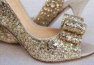 Chaussures à paillettes, rétine en fête !