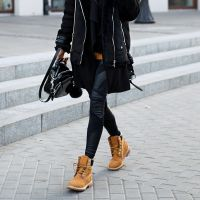 comment porter des timberland femme