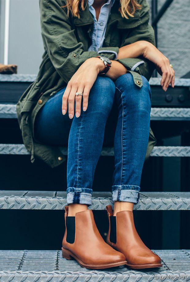 Sélection de chaussures cognac
