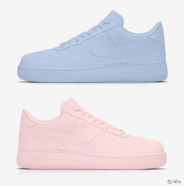 nike sort des air force 1 aux couleurs de pantone. Black Bedroom Furniture Sets. Home Design Ideas