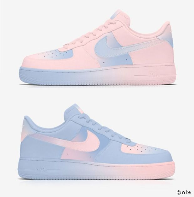 air force 1 en couleur