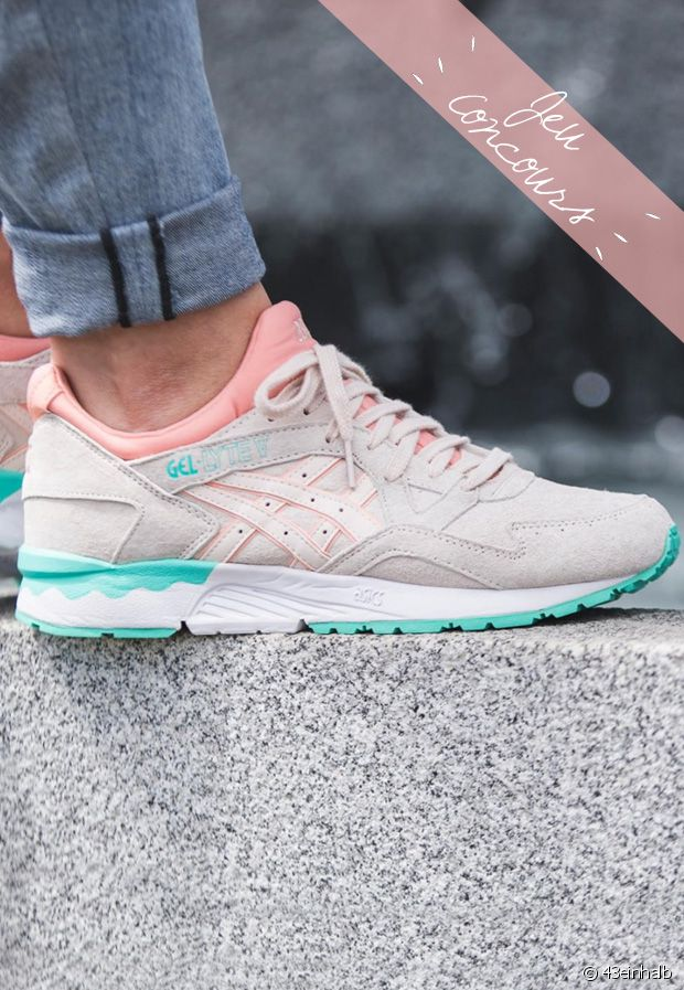 Jeu Concours : gagne ta paire d'Asics Gel Lyte III pastel