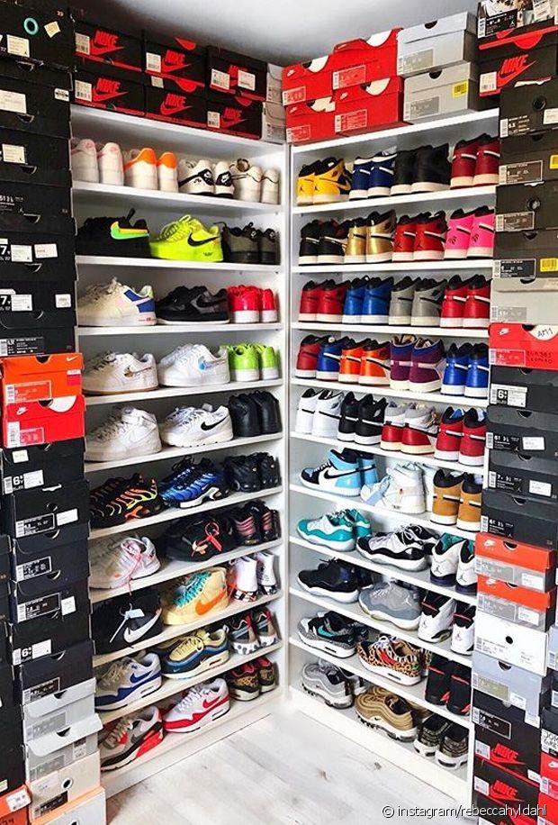 Comment ranger ses baskets quand on a beaucoup de paires ?